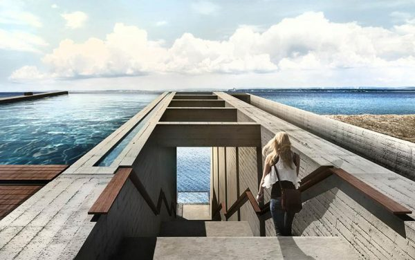 Espectacular vivienda construida dentro de un acantilado (1)