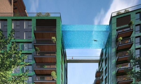 Una piscina nunca antes vista piscina al vacío entre dos bloques (5)