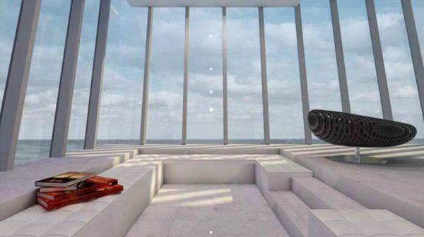 Casa suspendida en un acantilado (4)