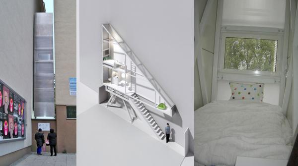 Vivienda dentro de dos edificios (1)