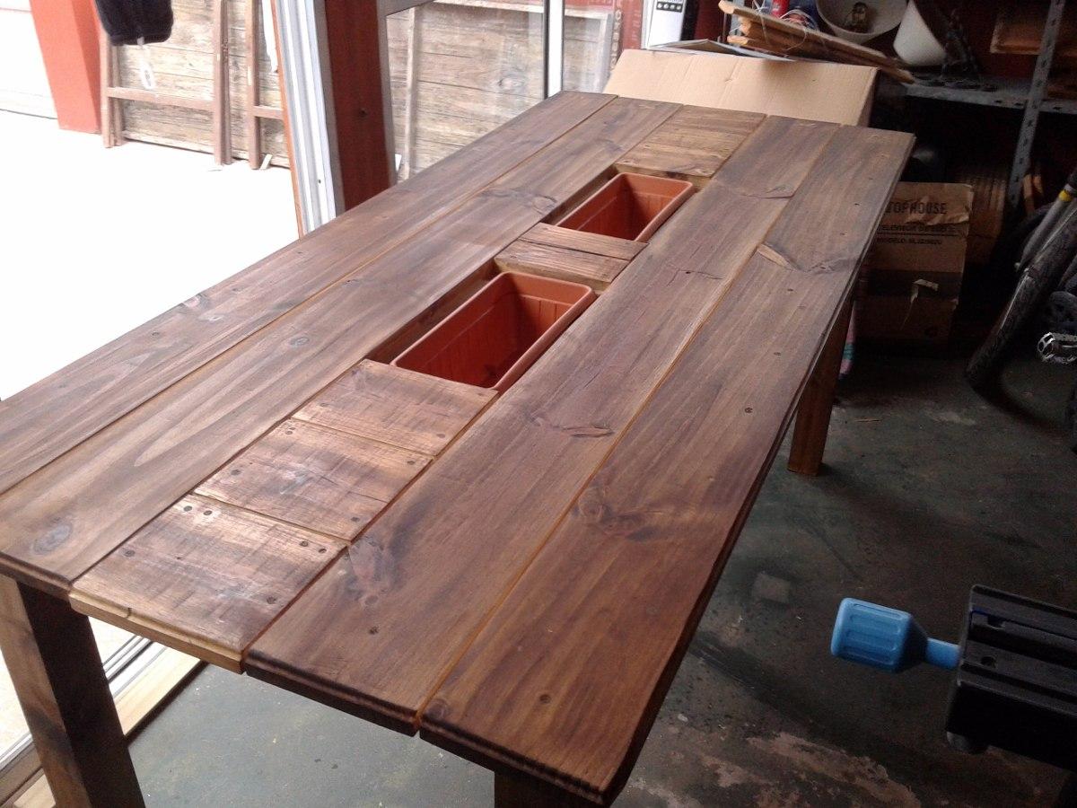 Mesa hielera una nueva forma de llevar el bar al jard n for Crear una cubierta de madera