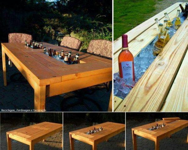 Mesa hielera, una nueva forma de llevar el bar al jardín (1) - copia