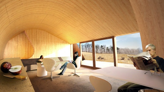 Falling Walter Cottage, casas del futuro