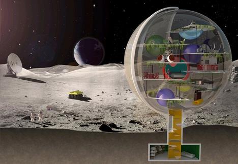 Moon Villa, casas del futuro