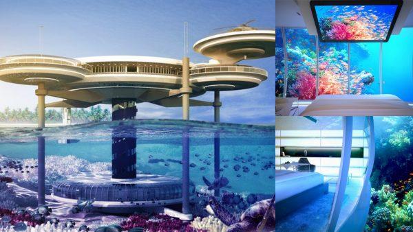 Walter Discus Hotel, casas del futuro