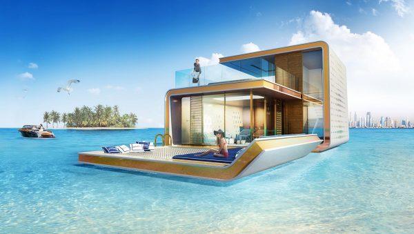 villa flotante Dubai