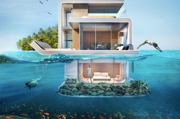 villas flotantes