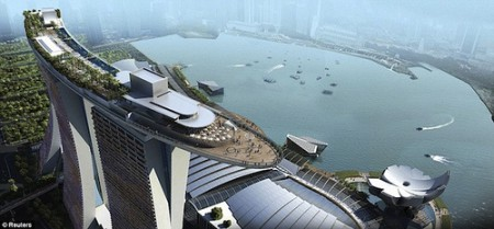 Hotel Marina Bay Sands .