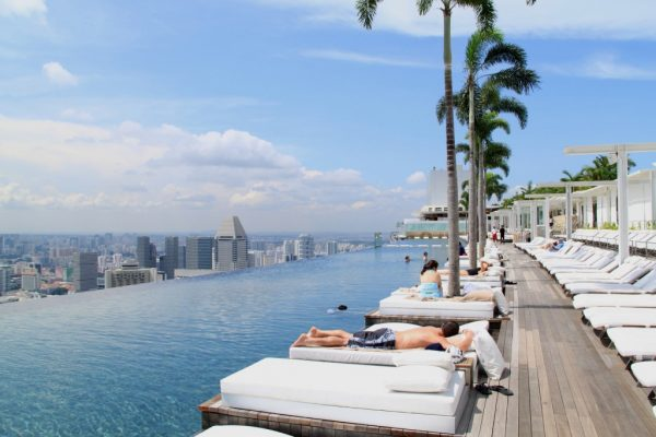 Hotel Marina Bay Sands..
