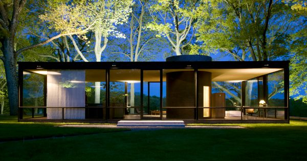 Glass House, casa de vidrio