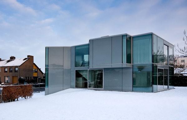 La casa H, de cristal