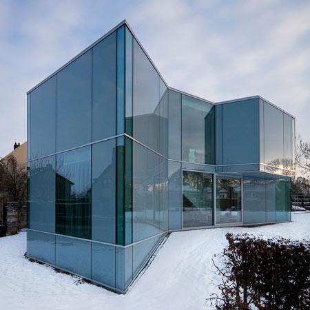 La casa H, de vidrio