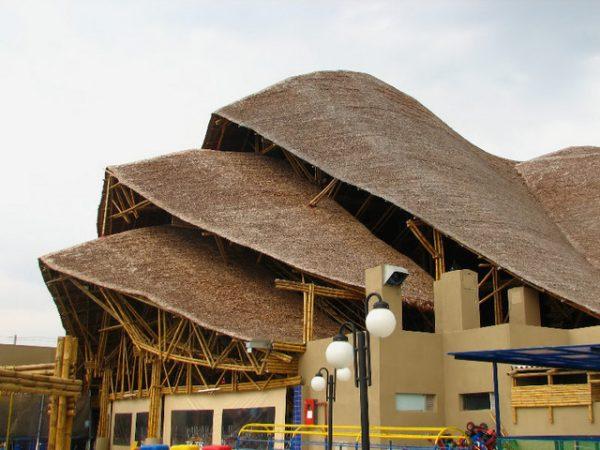 casas con bambu