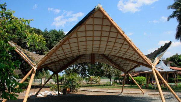 construccion con bambu