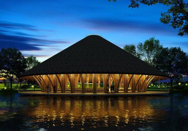 construccion es de bambu