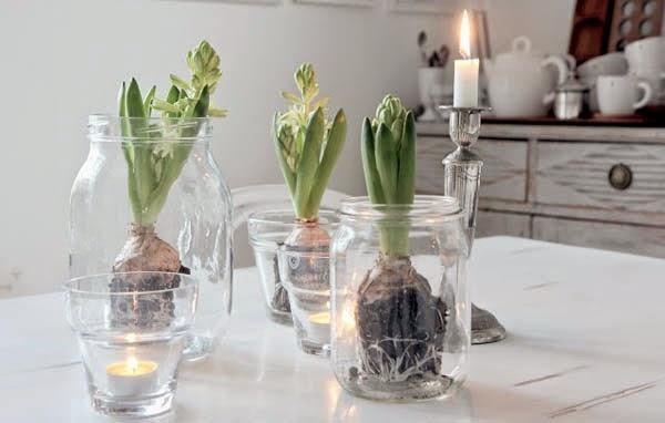 decorar la casa con cristal