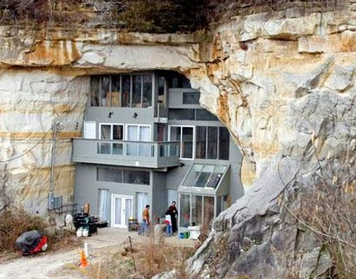 Casa cavernicola en Missouri