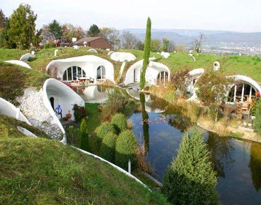 Casa madriguera en Suiza