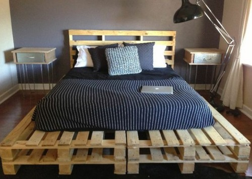 cama con palets original
