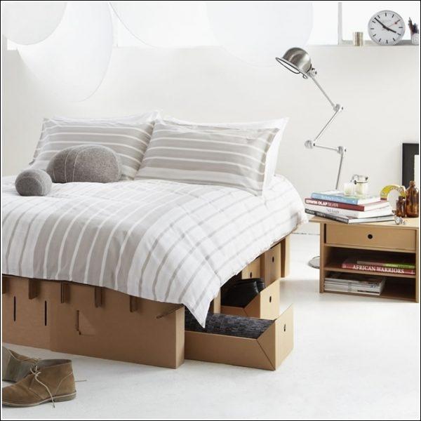 como construir una cama de palets