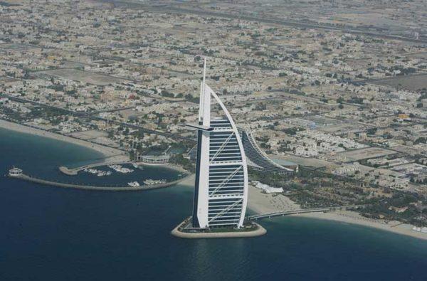 ubicacion del hotel Burj Al Arab