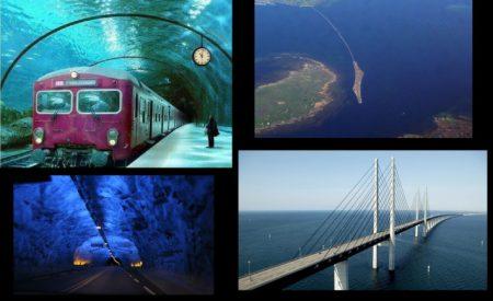 puente tunel que une dos paises