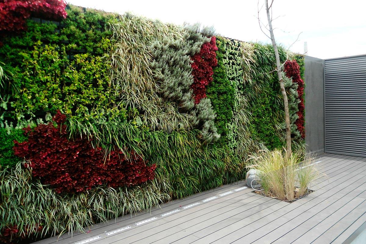 Tipos de jardines - Jardines verticales de interior ...