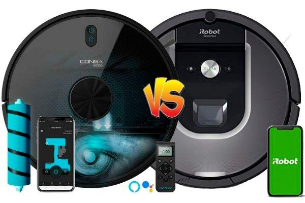 Robot aspirador Conga vs Roomba