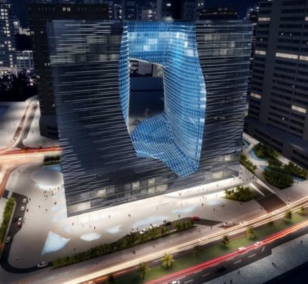 Diseño de hotel de Zaha Hadid en Dubai